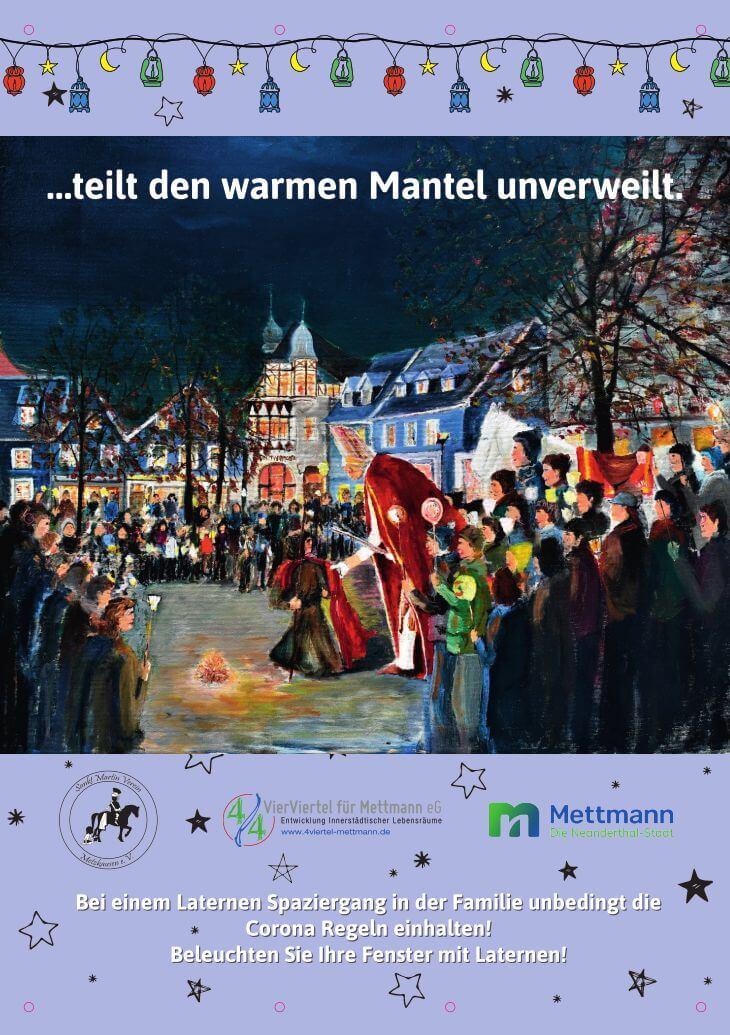 Plakat zu Sankt Martin 2020